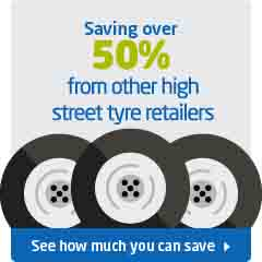 Cheaper Tyres = Saving over 50%
